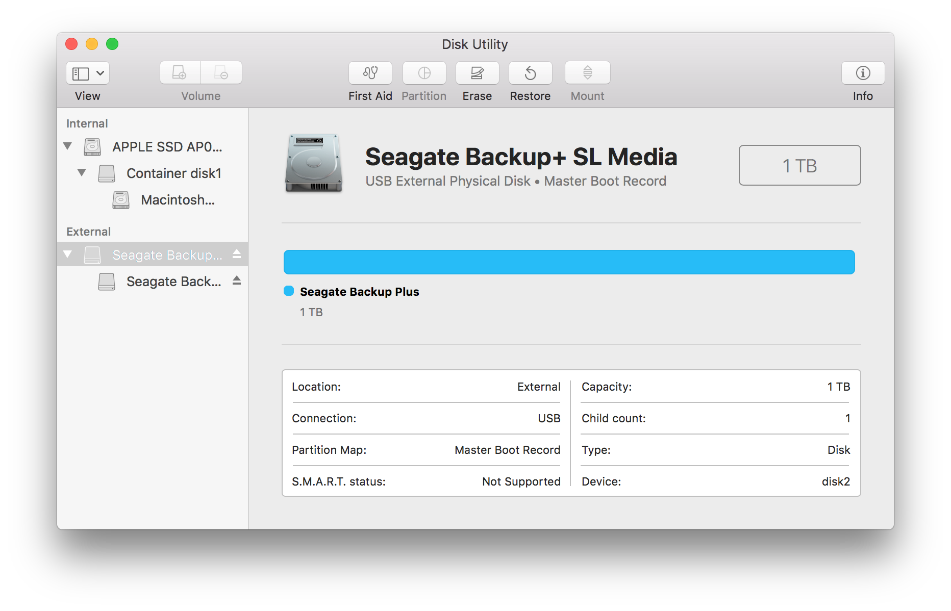 How to format your drive in macOS 10 11 and above | Seagate Support