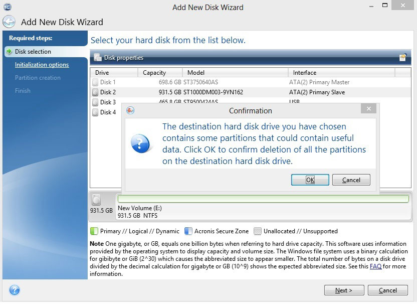 How to Use Add New Disk/Format with DiscWizard from the
