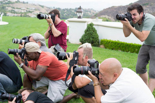 Photographer Jim Jordan leading a 2012 Phography Workshop